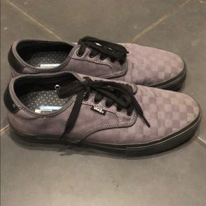 Vans Shoes - Vans gray checker pro ultra crush lite 10.5 shoes